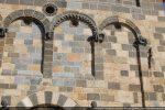 Arcature et oculus (façade ouest)