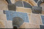 Archivolte avec croix et pommier (côté nord)