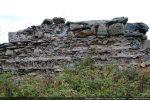 Mur nord: bourrage intérieur du mur