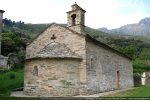 Angle NE de la chapelle construite avant 1281, date du premier document la mentionnant