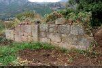 Mur nord et pilastre