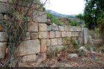 Mur nord et piédroit d'une porte latérale (?)