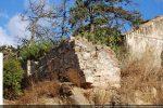 Détail du mur sud reconstruit au 14e siècle