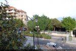 Vue de la butte dominant le boulevard et la Porteuse d'eau