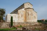 Abside et base de la tour qui s'appuie sur le mur de la cathédrale. L'abside est un chef d'œuvre d'harmonie
