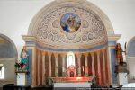 Abside centrale dédiée à Saint Pancrace