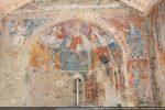 Vue générale de l'intérieur et des fresques