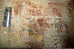 Mur nord: scènes de la passion