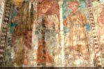 Trois Saints: Jean-Baptiste, Antoine l'ermite et François d'Assise (mur sud)
