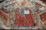 Abside de droite: Christ en majesté entouré du tétramorphe