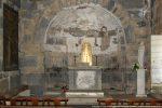 Intérieur de l'abside et arc triomphal
