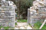 Porte du mur sud (intérieur)