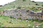 Mur nord servant de mur de soutènement