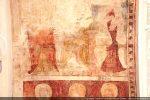 Deuxième groupe d'apôtres  entouré d'un décor en papier plié