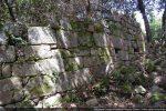 Une partie du mur nord vers l'abside (intérieur)