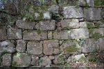 Détail du mur nord