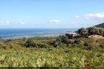 Situation de la chapelle avec vue sur les étangs de Biguglia