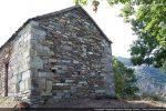 Mur est: abside remplacée par un mur plat