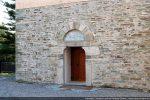 Partie basse de la façade occidentale (seconde moitié du 9e siècle pour G. Moracchini, 12e-13e siècle pour R. Coroneo))