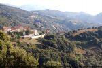 L'église et le hameau de Santa Maria Figaniella