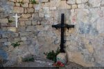 Restes de fresques dans l'abside