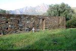 Porte et fenêtres du mur sud (en grande partie remanié)