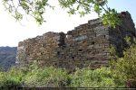 Mur sud avec traces de remaniements