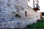 Mur nord avec partie ajoutée