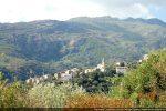 Village de Santo Pietro di Tenda vu du couvent