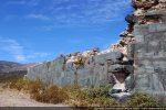 Mur sud et amorce de l'abside
