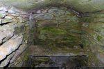 Intérieur du caveau funéraire (arca)