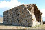 Mur nord avec traces de nombreux remaniements