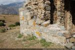 Base de la façade ouest: blocs du 11e siècle