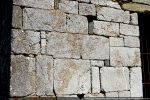 Détail de la construction (pierre de Pietralba)