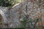 Mur sud vu de l'intérieur