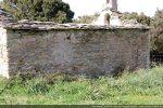 Mur sud avec des traces de transformations