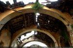 Etat de la toiture soutenue par des arcs