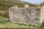 Mur ouest avec ancienne porte obturée