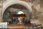 Partie ouest avec le jubé permettant la présentation des reliques