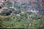 Chapelle Sainte Marguerite en contrebas de Sorio dans les arbres