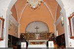 Partie la plus ancienne: arc triomphal et abside voûtée en cul de four