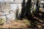 Pas de soubassement sur les murs latéraux