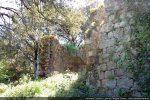 Mur nord en partie écroulé