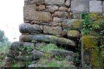 Menhir, dit Sagone 2, englobé dans l'angle nord-est