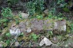 Quelques claveaux de l'arc triomphal (seconde moitié du 11e siècle)