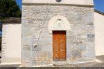 Partie romane de la façade occidentale (après restauration)