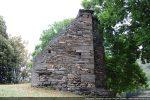 Mur sud conservé uniquement près de l'abside