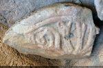 Fragment d'élément architectural (vers le 9e siècle Musée Carcopino)