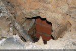 Entrée du caveau funéraire