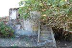 Escalier extérieur menant à l'étage